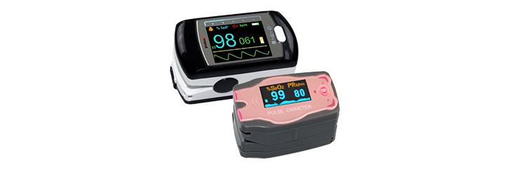 PULOX PO300 (für Erwachsene) & PULOX MD300C54 (für Kinder) • Zuverlässige Messung von Sauerstoffsättigung und Pulsrate